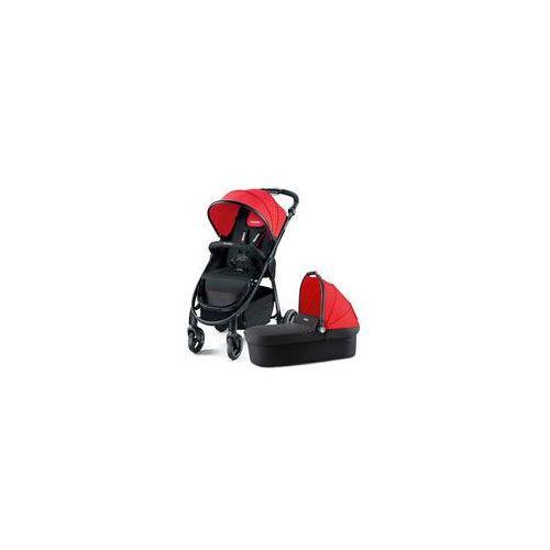 Wózek wielofunkcyjny 2w1 Citylife Recaro (ruby)