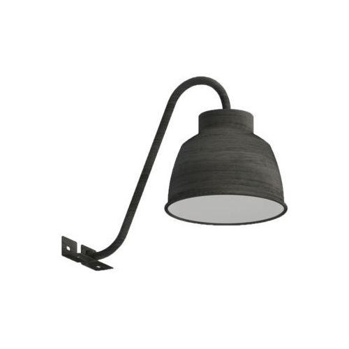 epila lampa ścienna led srebrny, ciemnobrązowy, 1-punktowy - nowoczesny - obszar wewnętrzny - epila - czas dostawy: od 10-14 dni roboczych marki Eglo