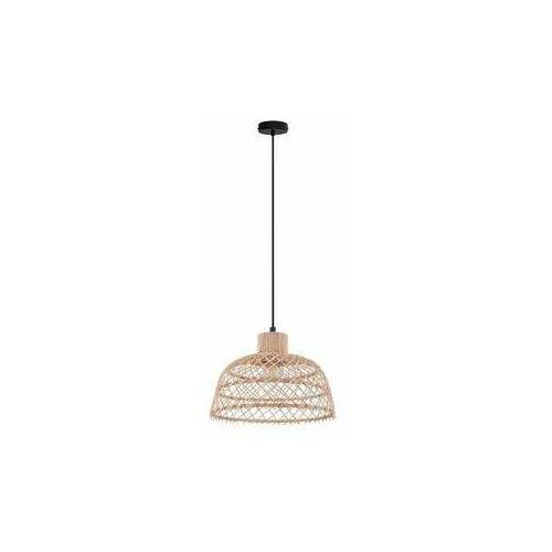 Eglo Ausnby 43285 lampa wisząca zwis 1x40W E27 drewno, kolor Drewno