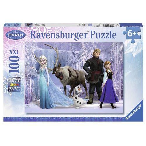 puzzle 100el kraina lodu frozen 105168 - 4005556105168- natychmiastowa wysyłka, ponad 4000 punktów odbioru! marki Ravensburger