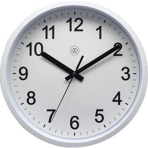 Nextime Zegar ścienny robust biały