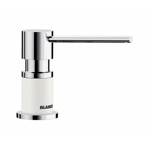 Blanco Lato Silgranit-Look biały/chrom dozownik detergentu (4020684725071)