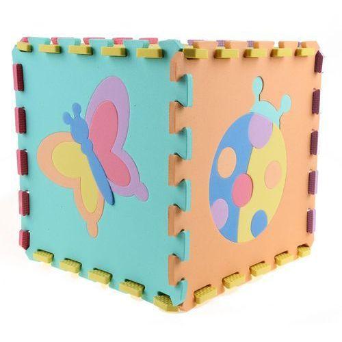 puzzle piankowe - zwierzęta, 10 szt marki Alltoys