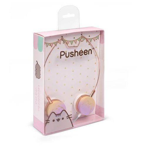 Słuchawki nauszne z uszami Pusheen