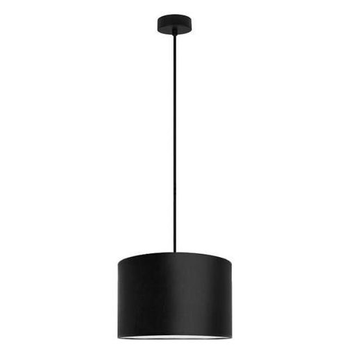 Klasyczna LAMPA wisząca MIKA M1/S/BLACK Sotto Luce abażurowa OPRAWA okrągła czarna, MIKA M1/S/BLACK