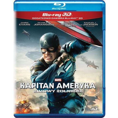 OKAZJA - Kapitan ameryka: zimowy żołnierz 3d (blu-ray) - anthony russo, joe russo darmowa dostawa kiosk ruchu marki Galapagos