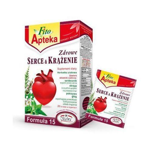 Herbata ziołowa formuła 15 serce i krążenie ex'20 40 g marki Malwa