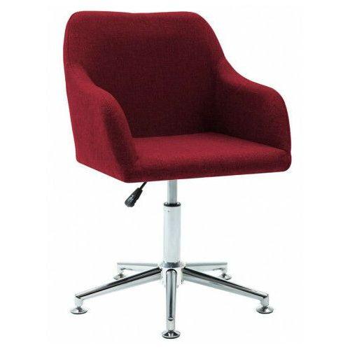 Czerwony biurowy fotel obrotowy - dakar marki Elior