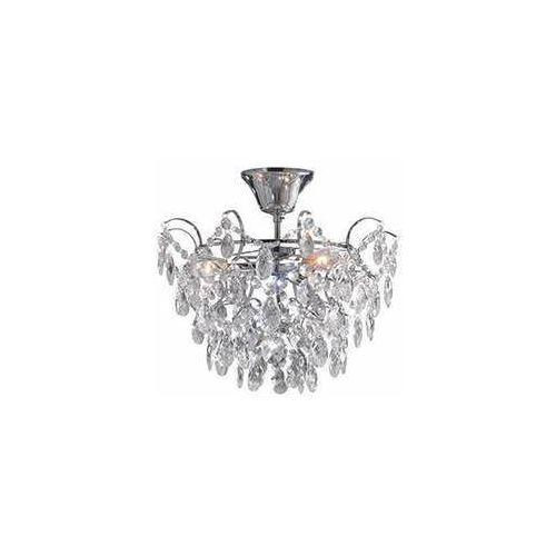 sofiero 106542 plafon lampa sufitowa 3x40w e14 chrom/transparentny marki Markslojd