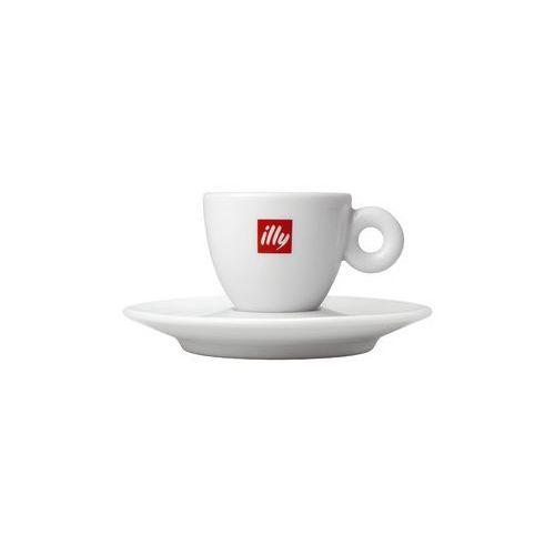 Illycaffè s.p.a Filiżanka i spodek - illy duze espresso