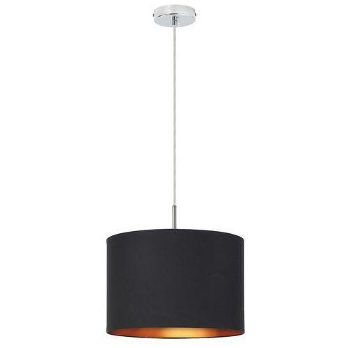 Lampa wisząca Rabalux Monica 2434 1x60W E27 czarny/złoty/chrom, 2526