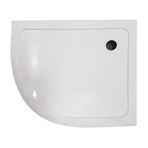 Brodzik prysznicowy asymetryczny 80x100 prawy memphis kerra marki Novoterm