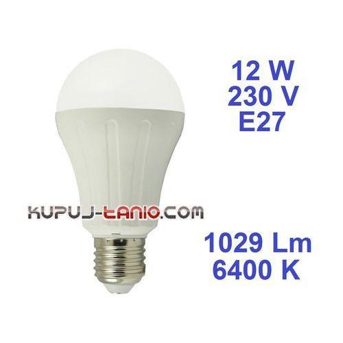 Żarówka LED Bańka (A65) 12W, 230V, gwint E27, barwa biała, 175795