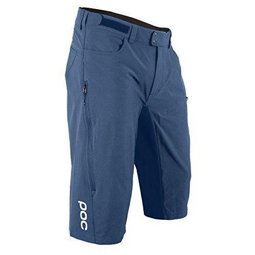 mężczyzn resistance enduro mid shorts, niebieski, m marki Poc