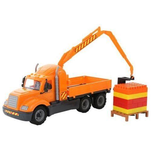 Ciężarówka z podnośnikiem + klocki 55606 Mike WADER POLESIE