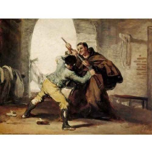 Reprodukcja Friar Pedro Wrests the Gun from El Maragato 18061807 Francisco Goya