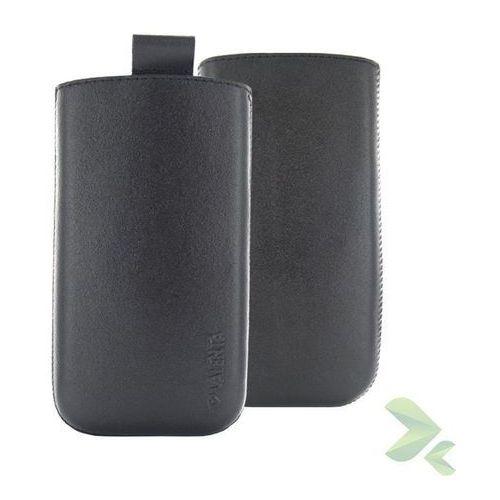 Rovens.pl Valenta Pocket Classic - Skórzane etui wsuwka Samsung Galaxy S4/S III, HTC One i inne (czarny), kolor czarny
