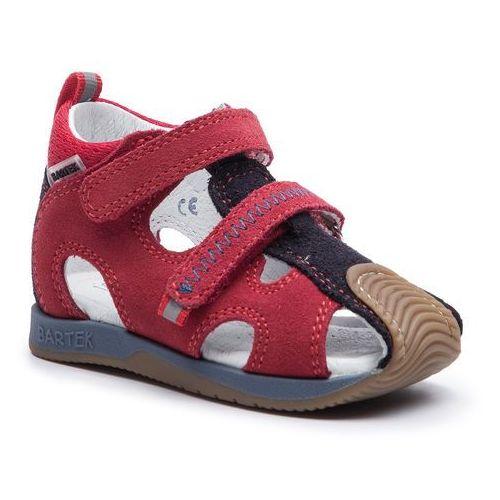 Sandały - 81772-5/llk niebieski/czerwony marki Bartek