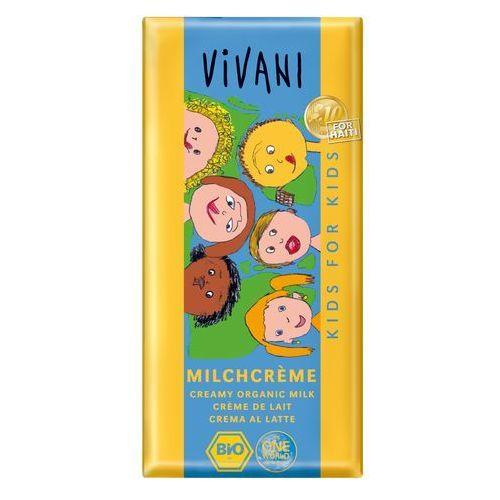 Vivani : czekolada mleczna dla dzieci bio - 100 g (4044889001099)