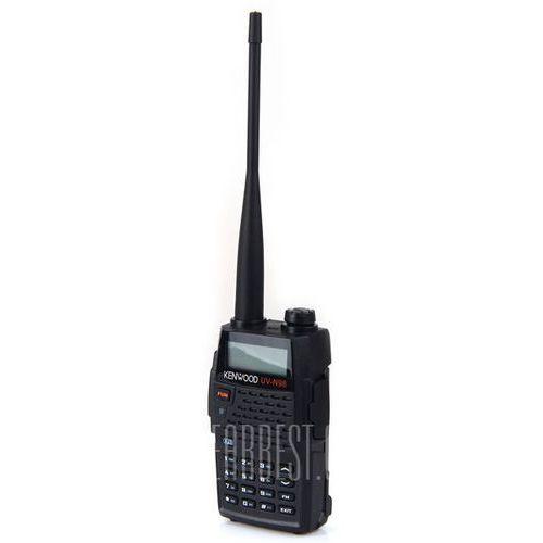 Uv-n95 professional fm transceiver walkie talkie with lcd display - black od producenta Gearbest