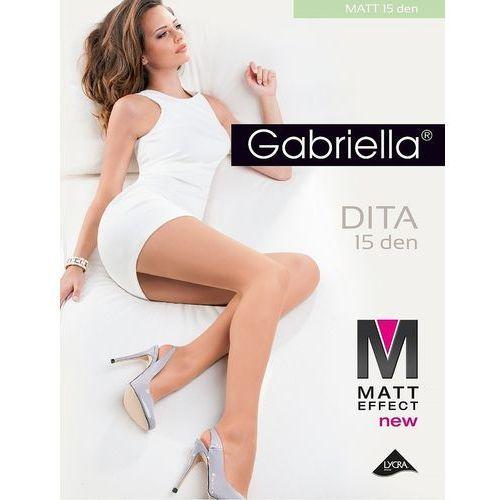 Rajstopy dita matt 15 den 5-xl 5-xl, beżowy/melissa, gabriella, Gabriella