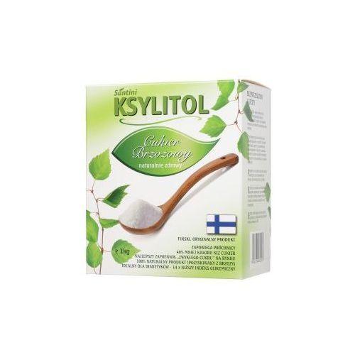 Santini Ksylitol, xylitol (1kg) – cukier brzozowy produkcji fińskiej ()