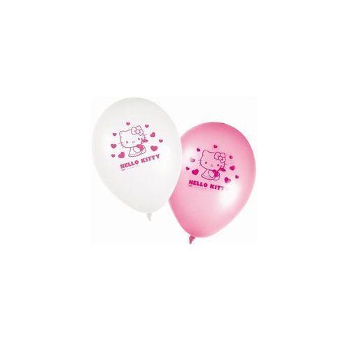 Balony urodzinowe hello kitty serca - 28 cm - 8 szt marki Procos