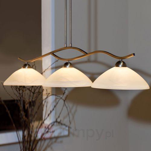 capri lampa wisząca brązowy, 3-punktowe - nowoczesny - obszar wewnętrzny - capri - czas dostawy: od 4-8 dni roboczych marki Steinhauer