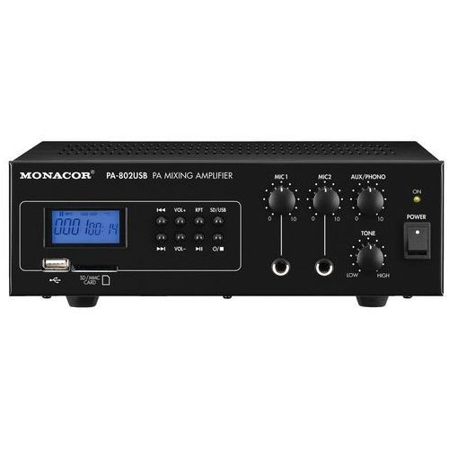 Monacor EDL-112/WS, profesjonalny projektor dźwięku pa