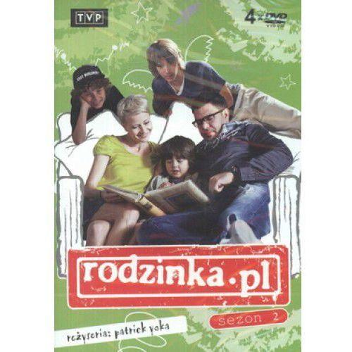 Rodzinka.pl (Sezon 2) 4 DVD - sprawdź w wybranym sklepie