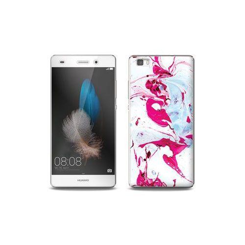 Etuo full body slim fantastic Huawei p8 lite - etui na telefon full body slim fantastic - różowy marmur