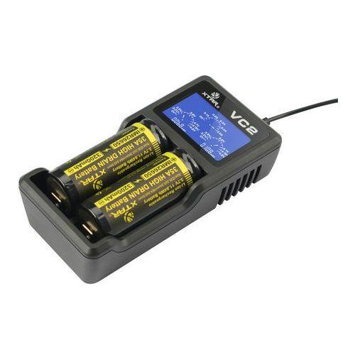 ładowarka do akumulatorów cylindrycznych li-ion Xtar VC2