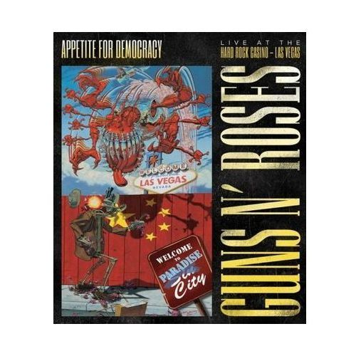 Appetite For Democracy. Live At The Hard Rock Casino [DVD] (DVD) - Guns N' Roses