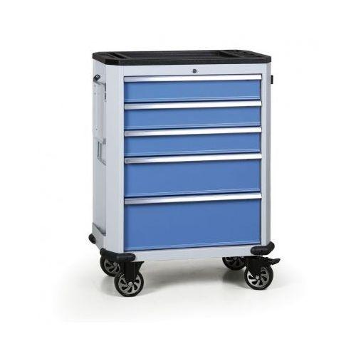 Wózek warsztatowy expert, 5 szuflad marki B2b partner