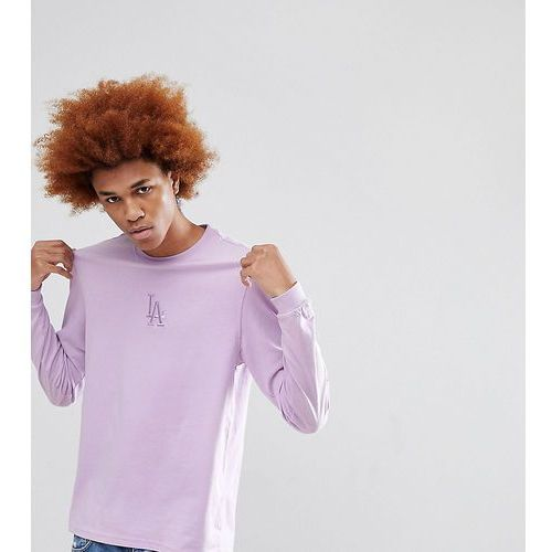 New Era Los Angeles Dodgers Long Sleeve T-Shirt Exclusive To ASOS In Lilac - Purple