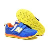 Buty New Balance dziecięce KV111 Niebieskie/pomarańczowe/żółte