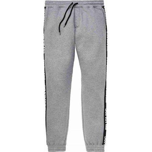 Supra Spodnie dresowe - streeter pant grey heather-blk (035) rozmiar: l