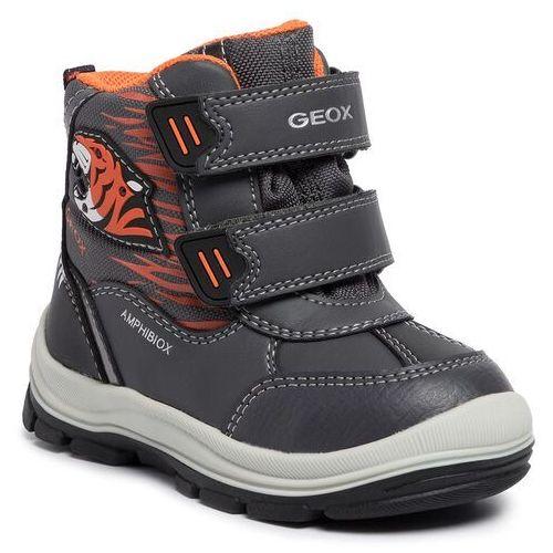 Geox Śniegowce - b flanfil b. b abx a b943va 054fu c9a2t m anthracite/orange