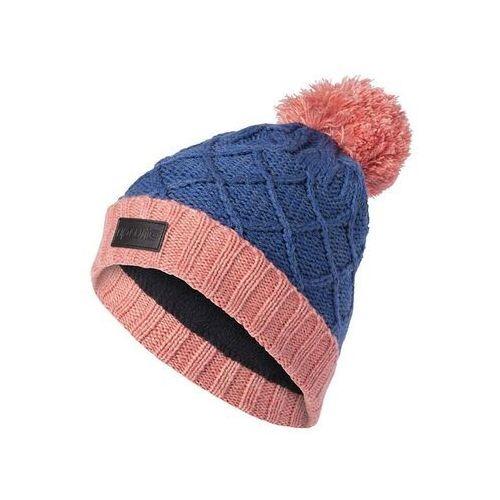 czapka zimowa RIP CURL - Wool Pompom Girl Beanie Palace Blue (8663) rozmiar: OS, kolor niebieski