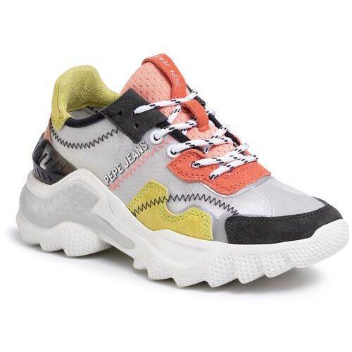 Sneakersy - eccles techno pls31003 graphite 961 marki Pepe jeans