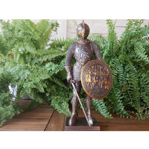 Veronese Rycerz z mieczem i tarczą w grawerowanej zbroi (wu72053a4)