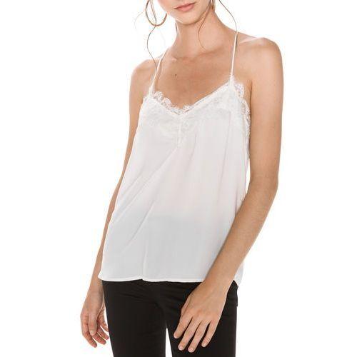 Vero Moda Carolina Top Biały S, kolor biały