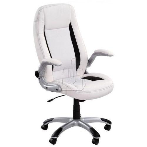 Halmar Fotel gabinetowy saturn biały - gwarancja bezpiecznych zakupów - wysyłka 24h