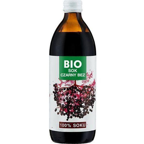 BIOAVENA 500ml Sok Czarny Bez bez dodatku cukru Bio | DARMOWA DOSTAWA OD 200 ZŁ - sprawdź w wybranym sklepie