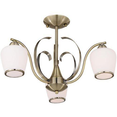 Lampa wisząca zwis żyrandol Candellux Opera 3x40W E14 patyna 33-54951, 33-54951