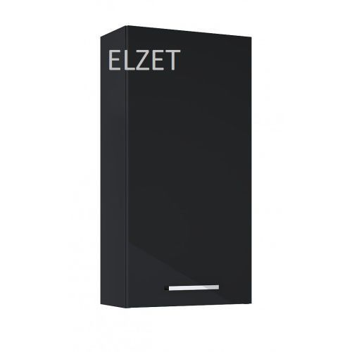 Elita szafka wisząca kwadro plus 40 1d black, 21,6 cm głębokości 166656