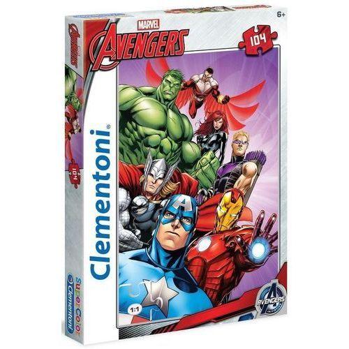Clementoni Puzzle 104 el. the avengers 27931 (8005125279319)