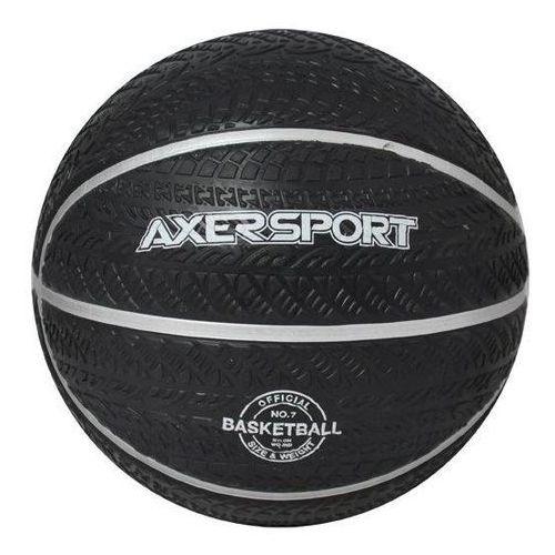 Piłka do Koszykówki na ASFLAT/BETON AXER roz. 7 - Guma kompozytowa