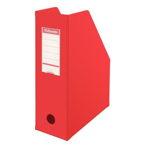 Pojemnik na dokumenty vivida 10cm czerwony składany marki Esselte
