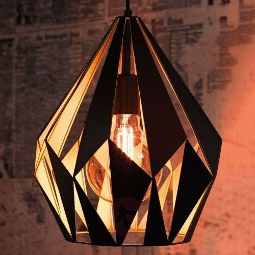 Lampa wisząca Carlton, czarno-żółta, 22667659389